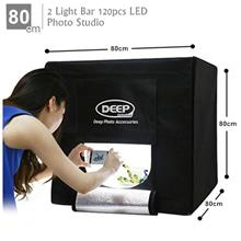 DEEP Professional LED Photography Studio Light Box - 80*80cm