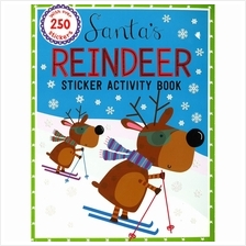 Santa's Reindeer Sticker Activity Book