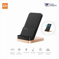 Xiaomi Mi Wireless Charger Stand Pad 55W Qi Air Cooled Quick Charge T