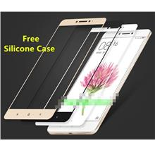 Xiaomi Mi Max Full Cover Tempered Glass Screen Protector + Soft Case