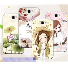 Buy 2 Free 1@ Samsung Galaxy Note 2 3D Soft Silicone Case Cover Casing