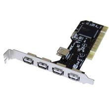 EWIN 4+1 PORT USB 2.0 PCI CARD (VZ-PC2237)(F554)