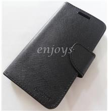 MERCURY Fancy Diary Case Cover Asus ZenFone Go 4.5 /ZB452KG BLACK *XPD