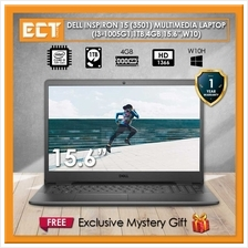 Dell Inspiron 15 (3501) Multimedia Laptop (i3-1005G1 3.40Ghz,1TB,4GB,15.6 &amp