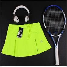 Hot 2020 Tennis Skirt Women's Sports Sh - [FLUORESCENT GREEN,L49-59KG]