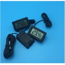 Aquarium Lcd dgtl Thermometer Electronic Fish Tank Water Refrigerator
