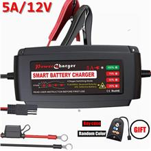 Lst Uk Automatic Trickle Charger Maintainer 12v Smart Deep Cycle Batte