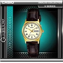 CASIO LTP-V006GL-9B ANALOG LADIES WATCH 100% ORIGINAL