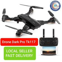 Selfie Drone Tk117-1 Optical Flow Positioning Foldable Rc Drone 720p C