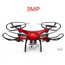 Rc Drone Quadcopter Dengan 1080p Wifi Fpv Camera Rc Helico - [3MP-RED]