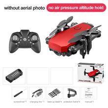 Rc Drone Foldable MINI Quadcopter With 4K Camera Drone  - [RED NO CAM]