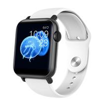 Qs19 Smartwatch Waterproof Blood Pressure Heart Rate Monitor - [WHITE]