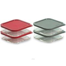 ECONCEPT 2-In-1 Freezer Food Organizer Square 500ml BPA Free Acrylic - E-8008/)