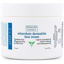 Seborrheic Dermatitis Cream with Manuka Honey, Coconut Oil and Aloe Vera - Moi