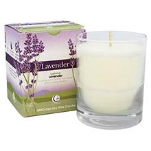 Way Out Wax Aromatherapy Scented Candle, Lavender Fragrance, (6 oz Clear Glass