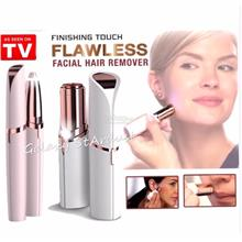 Flawless-Eye Brow Facial Fine Hair Remover-Depilator LED Light Trimmer