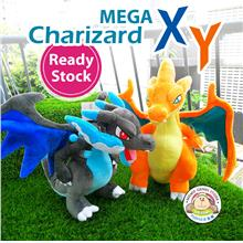 Pokemon Pikachu Mega Charizard XY Soft Plush Toy Doll (28cm)(38cm)