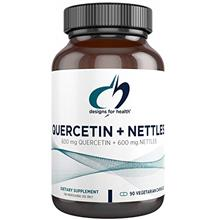 Designs for Health Quercetin + Nettles Capsules - Flavonoid + Stinging Nettle