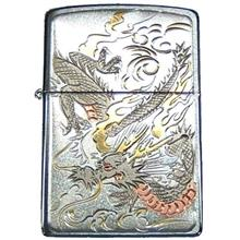 Zippo Rampage Dragon Ryu Beautiful Electroforming Japan Limited Oil Lighter/ S
