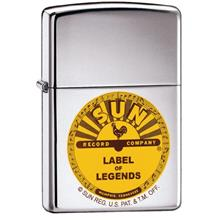 Zippo Sun Logo High Polished Chrome Lighter ZCI001977/ Shipping from U.S.A.