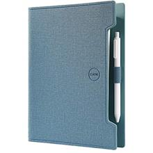 Refillable Leather 6 Ring Binder Notebook with Pen, Spiral Writing Journal Dia