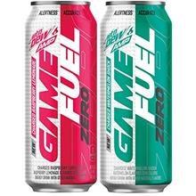 Mountail Dew Game Fuel Zero, Variety Pack, 16 Oz Cans (12 Pack) (Packaging May