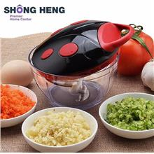 Ladybird Multifunction Vegetable Cutter Chopper Manual Meat Slicer