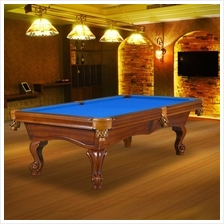 8ft home American pool table