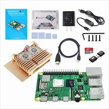 Makeblock Raspberry Pi 4B 4GB Starter Kit with Model B 4G Motherboard, 16GB Mi