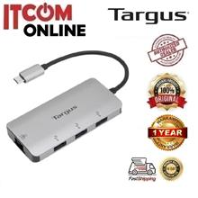 TARGUS TYPE-C TO 3-PORT USB3.0 HUB + TYPE-C + GIGABIT LAN ADAPTER (ACA951AP)