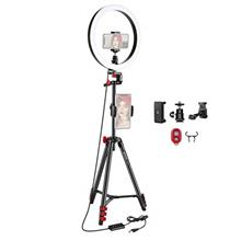Neewer 12-inch LED Ring Light Selfie Light Ring with Tripod Stand and Phone Ho
