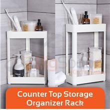 BIGSPOON BC00077 2-Tier Bathroom Counter Storage Table Top Rack Shelf