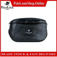 Original Polo Louie Men Leather Trending Pouch Bag Waist Pack Side Beg