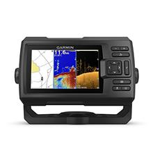"Garmin Striker Plus 5cv with Transducer, 5 "" GPS Fishfinder with CHIRP Tr"