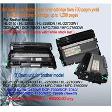 Brother toner cartridges ,Covert your started pack to high Yield