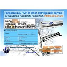 KX FAT411 Panasonic  toner cartridge refill service