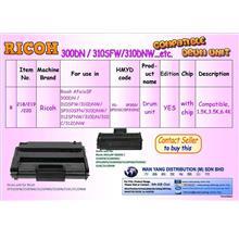 Ricoh Aficio SP 300DN, 310SFW,310DNW MONO  DRUM  UNIT