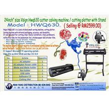 """24inch"""" size Vsign Hwq630 cutter calving machine / cutting plotter"""