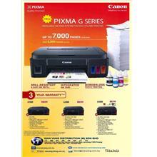 CANON NEW PIXMA G SERIES G3000  Inkjet printer