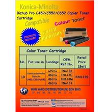Copier Toner Cartridge Pro C452/552/652Compatible CMYK