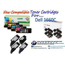 Dell 1660C Compatible CMYK/COLOR Toner cartridges