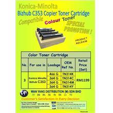Konica Minolta Bizhub C200, C210,C203,C353  CMYK / COLOUR COPIER
