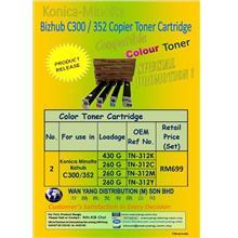 Konica Minolta Bizhub C300 / C352  CMYK / COLOUR COPIER