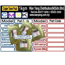 RICOH  821026/7/8/9 [CYMK]  Copier Bulk Toner Pack