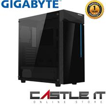 Gigabyte C200 Glass ATX Mid Tower Stylish RGB Light on Black Tempered
