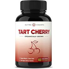 Organic Tart Cherry Concentrate - 1000mg Premium Uric Acid Cleanse Supplement