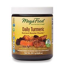 MegaFood, Daily Turmeric Nutrient Booster Powder, Post-Exercise Recovery Vegan