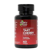 Montmorency Tart Cherry Softgels | 60 Count Bottle | Non-GMO  & Gluten Free |