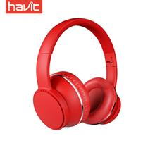 Havit Noise Reduction Wireless Foldable Bluetooth Headset - Red