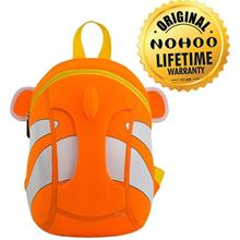 [BUY 1 FREE 1] Nohoo Clown Fish Backpack (2 to 4 Years Old) - NH-016)